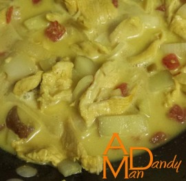 Coconut Curry with Chicken